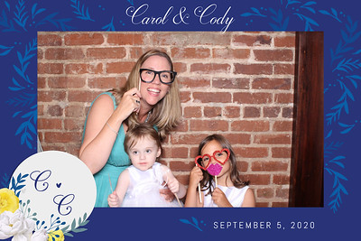 Cody and Carol 09/05/2020