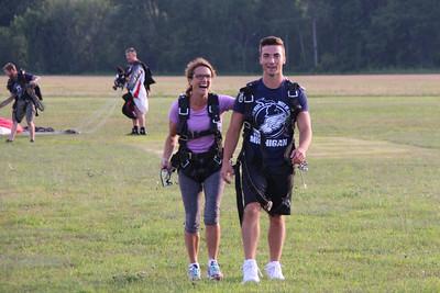 2017 - Skydiving...Jill & Daniel