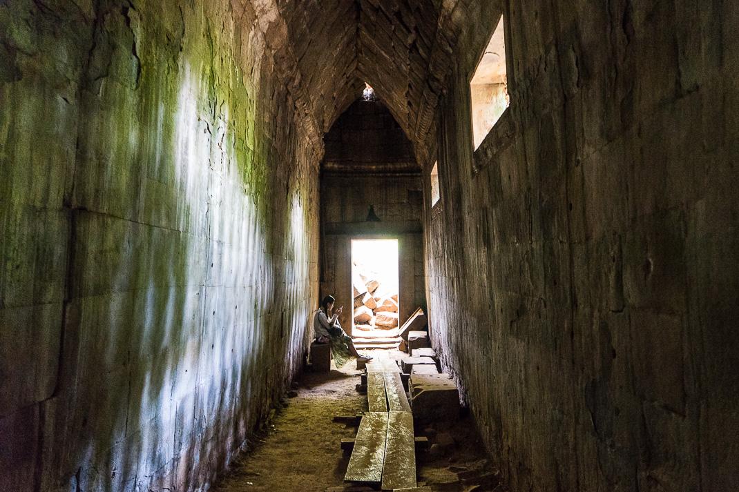 Beng Mealea Hallway Reader