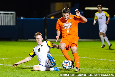 2nd Half from UM Men's Soccer Vs BGSU 9-16-14