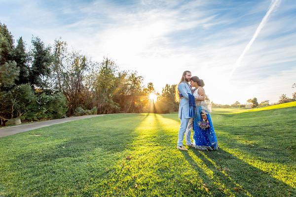 Shiny and CJ wedding