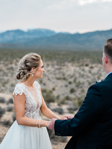 Mt. Charleston, Las Vegas Intimate Wedding | Kristen Kay Photography-26.jpg