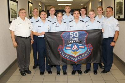 Cadet Officer School 2018 Class Photos