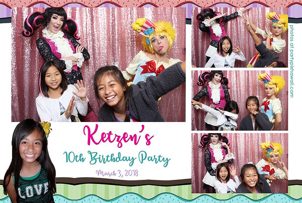 Ketzen's 10th Birthday (Mini Open Air Photo Booth 2)