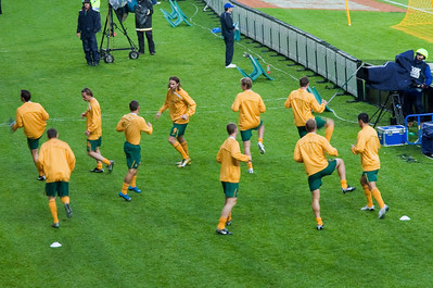 Australia vs Netherland October 2009