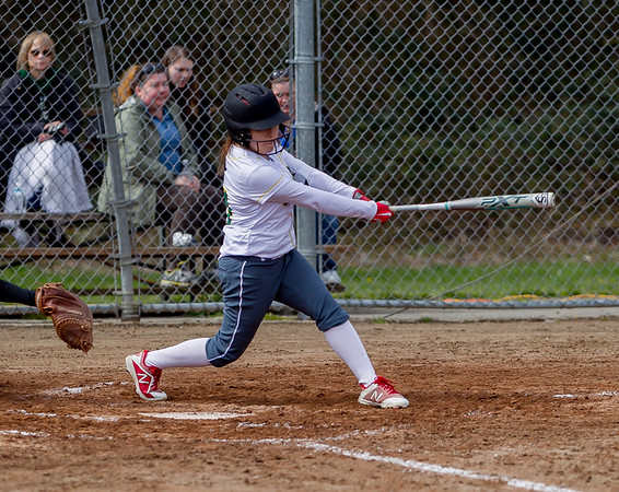 Set four: Vashon Island High School Fastpitch v Coupeville
