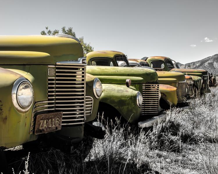 Green Truck Line-Up