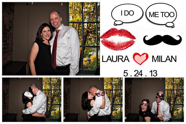Laura & Milan Wedding Photo Booth
