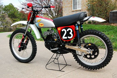 1975  Honda : CR  FMF Honda CR125