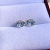 2.27ctw Transitional Cut Diamond Pair, GIA H VS2 8