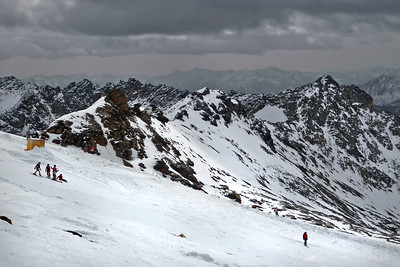 Skiing on Moeltall - Oct 14, 2008