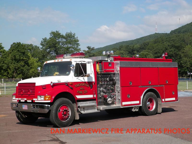 TREVORTON FIRE CO. ENGINE 311 1992 INTERNATIONAL/SMEAL PUMPER