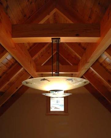 Wyrsch residence: ceiling detail