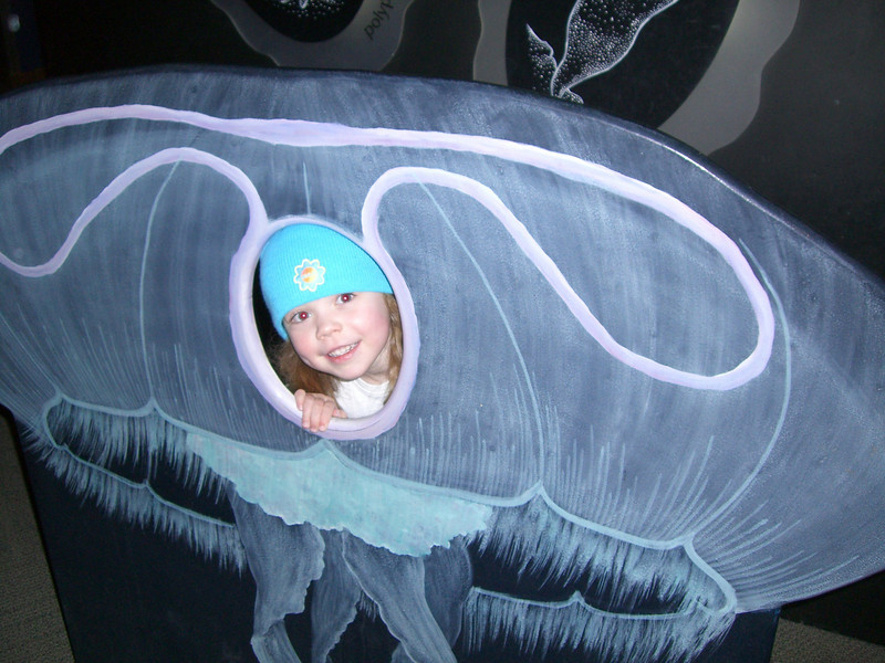 Now Kimber is a jellyfish.