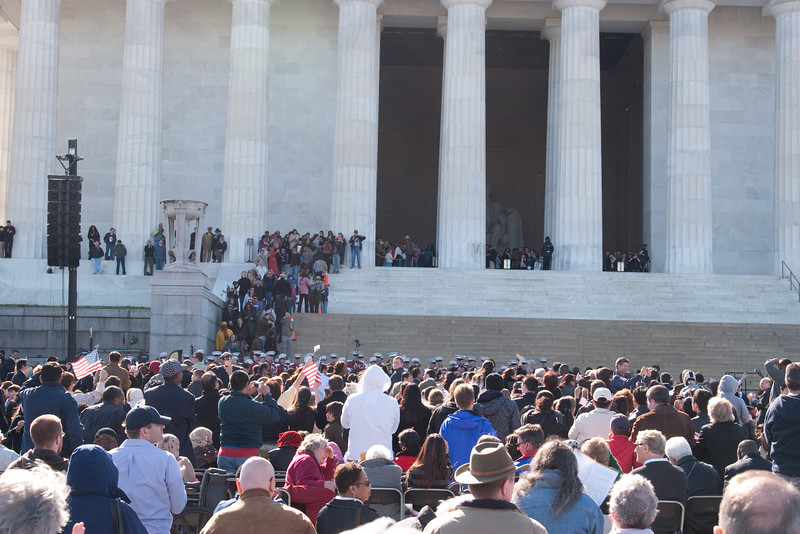 Celebrating the completion of the Oath of Allegiance -- Marian Anderson Tribute Concert, Easter Sunday 2009 featuring Denyce Graves (commemorating Easter Sunday 1939) at the Lincoln Memorial
