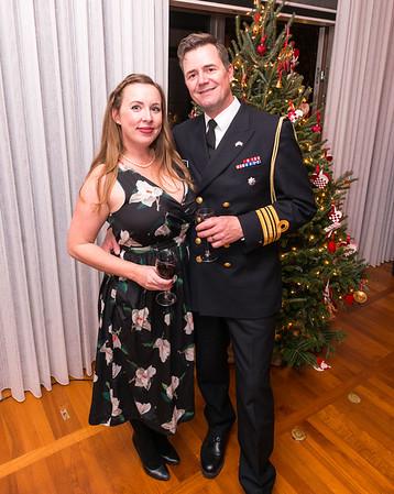 HBS at the Ambassador of Denmark's - Holiday Celebration