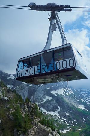 Exercice évacuation Glacier3000