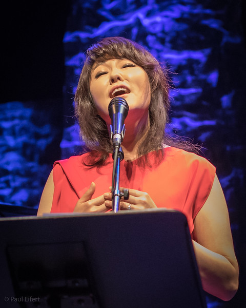 Youn Sun Nah performs at Le Monument-National during the Montreal Jazz Festival 2017