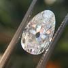 2.13ct Antique Pear Shape Diamond, GIA I, VS2 22