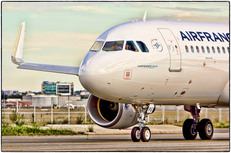 Ready for Takeoff, Air France A320 Test Flight, Toulouse