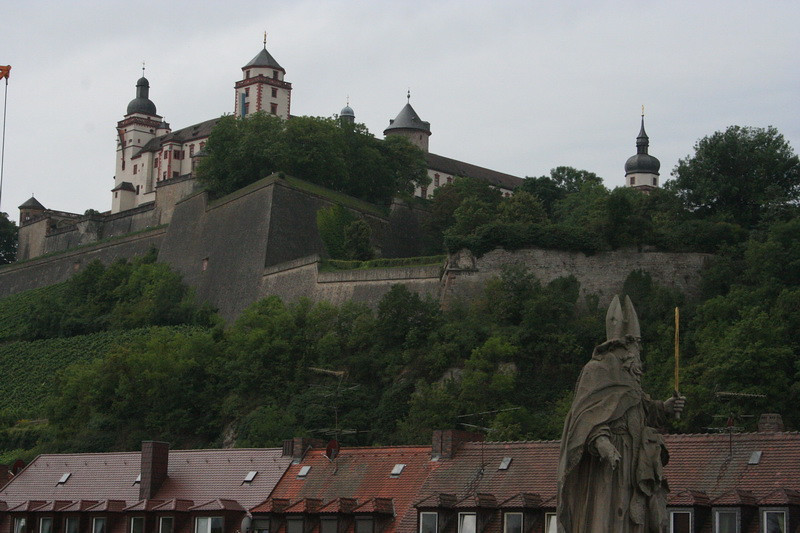 Wurzburg,Germany - Festung Marienburg