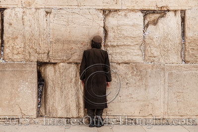 20150909 Prayer Note Cleaning at the Western Wall
