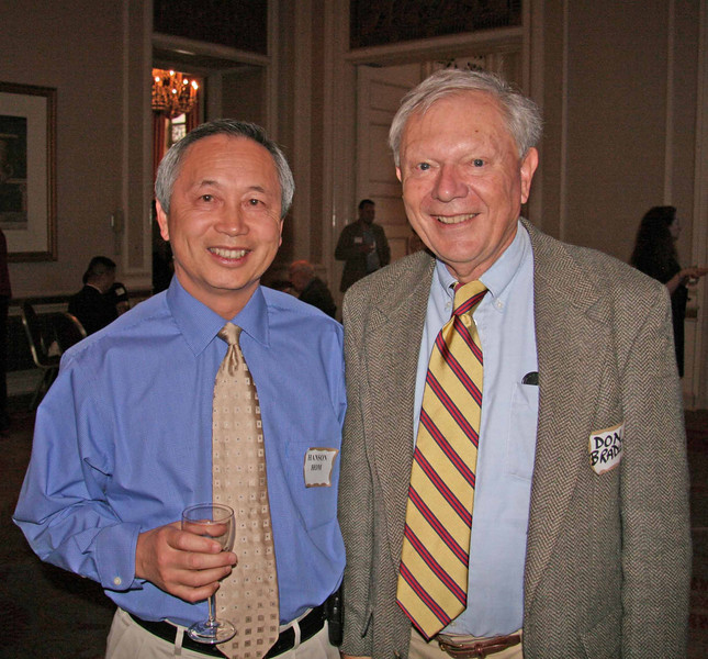 Hanson Hom, Section Director Elect, and Dr. Don Bradley, AICP Coordinator for APA California Northern