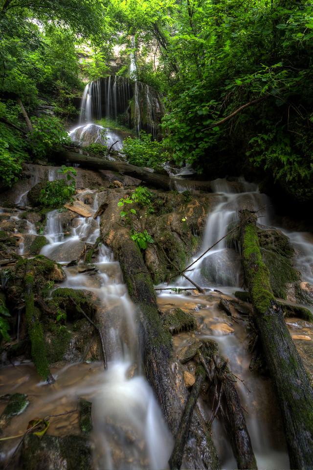 Daniel Boone Cave Falls