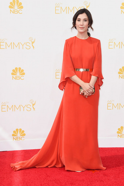 . Actress Sibel Kekilli attends the 66th Annual Primetime Emmy Awards held at Nokia Theatre L.A. Live on August 25, 2014 in Los Angeles, California.  (Photo by Frazer Harrison/Getty Images)