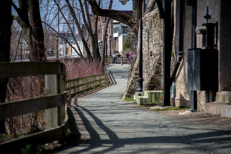 Along the Manayunk Canal