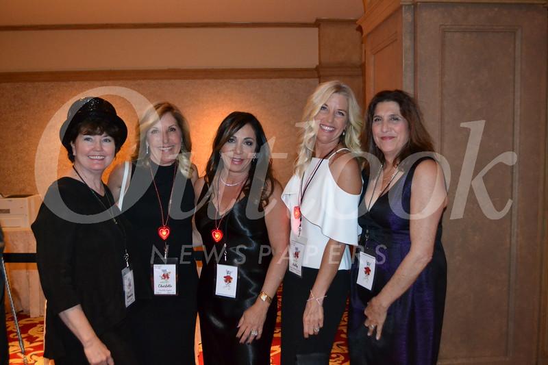 Rosemary Johnston, Charlotte Saydah, Elizabeth Mozilo, Kathy Ursini and Lisa Orlandini