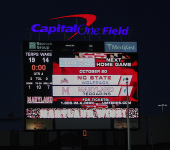 Terps vs Wake Forest - 6     Oct 2012