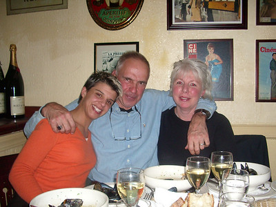 2005 Dinner with MV's Dad
