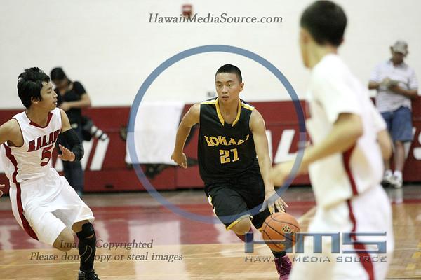 Kohala Boys Basketball - Kal 2-21-14