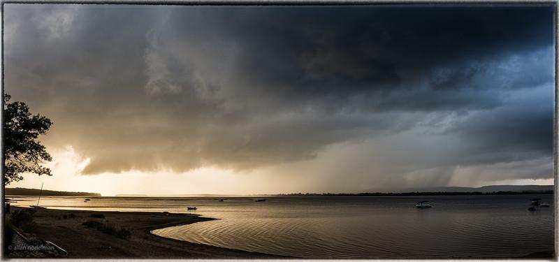 August 26th Rain Near Sunset