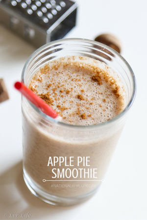 Vegan Apple Pie Smoothie Recipe