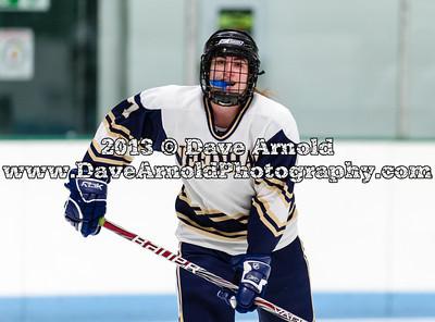 12/13/2013 - Girls Varsity Hockey - Wellesley vs Needham