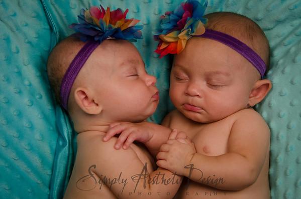 Alvarado Twins 3 months