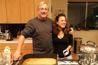 Taylor & Lewis Family Thanksgiving Dinner, Nov 24, 2011