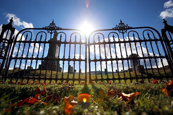 Tyringham Cemetery Fence Restoration-100814