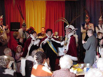 Bezoek Woon- en Zorgcentrum 't Blauwhof in Steendorp 2005