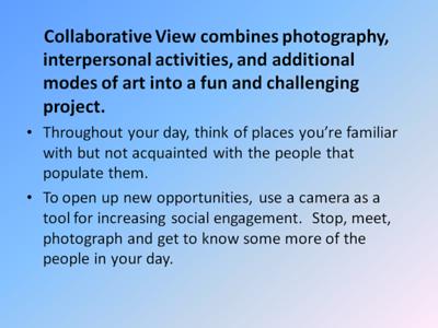 Collaborative View