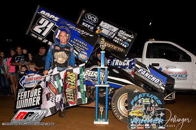 Lincoln Speedway - 7/1/19 - Dave Dellinger