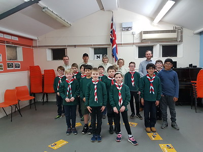1st Jacobswell Cubs Investitures
