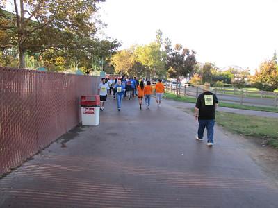 Knott's Berry Farm Diabetes Walk - 10/1/11