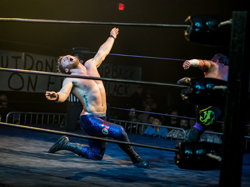 SCW Pro Wrestling at The Rust Belt in East Moline, IL.
