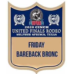 UPRA Finals Friday Bareback Bronc