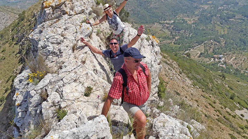 On the Ferrer Ridge final section