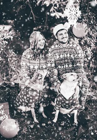 Alexis + Chris's Christmas Photos!
