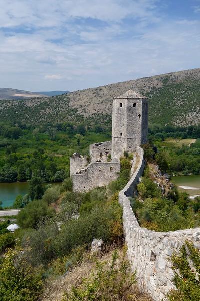 fortress tower in Počitelj